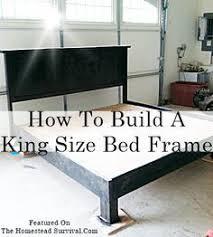 awesome design diy king size bed frame 80 diy platform genwitch