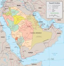 Political Map Asia by Saudi Arabia Political Map Riyadh Mecca Medina