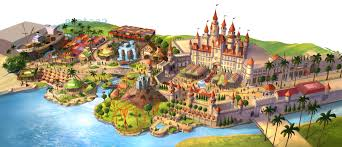 Universal Studios Hollywood Map Universal Studios Singapore Map And Details Revealed