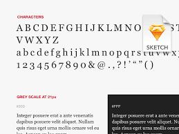font specimen for sketch sketch freebie download free resource