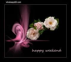 weekend wishes with beautiful flowers whatsapp99