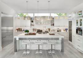 kitchen floor ideas with white cabinets 15 cool kitchen designs with gray floors grey hardwood floors