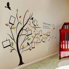 honana dx 131 90x60cm creative photo frame tree wall stickers