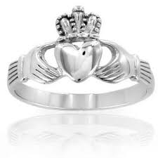 clatter ring crucible stainless steel men s celtic eternity claddagh ring