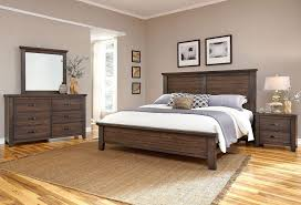 Bassett Bedroom Furniture Cassell Park Panel Bedroom Set Dark Roast Vaughan Bassett