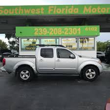 nissan frontier crew cab nissan frontier crew cab le pickup in florida for sale used