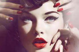 hair makeup hair makeup inspiration retro waves nails
