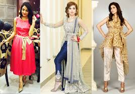 latest pakistani party dresses and frock designs 2017 beststylo com