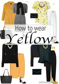 how to wear yellow u2013 different ways and color combinations