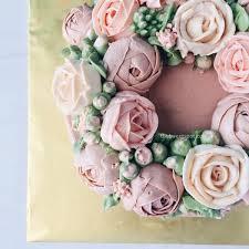 Flower Cakes Bespoke Buttercream Flower Cakes U2013 The Sweet Spot