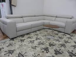 Leather Recliner Corner Sofa Natuzzi Clearance Stock