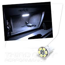 nissan altima 2005 dome light amazon com tgp t10 white 6 led smd glove box wedge light bulb