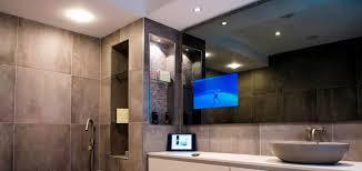 mirror bathroom tv waterproof and bathroom tv