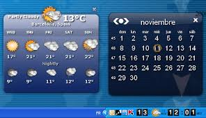 afficher l horloge sur le bureau windows 7 weather clock télécharger