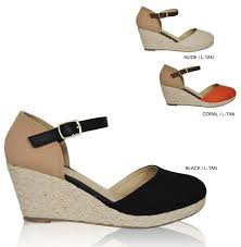 Closed Toe Sandals With Heel Women U0027s Closed Toe Espadrille Ankle Strap Platform Mid High Wedge