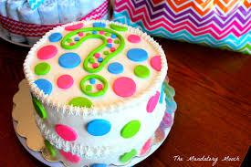 the mandatory mooch gender reveal cake question mark