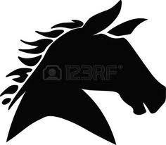 vecteur cheval silhouette vecteur banque d u0027illustrations