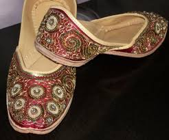 wedding shoes india gurgabi wedding shoes from india with zari sequin work khussa shoes