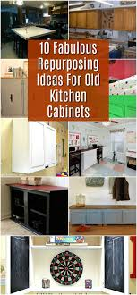 what to do with cabinets 10 fabulous repurposing ideas for kitchen cabinets diy