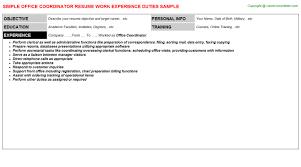 Office Coordinator Resume Samples Visualcv Resume Samples Database by Best Cover Letter Ghostwriter Service For College Popular College