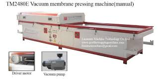 mdf kitchen cabinet doors pvc vacuum membrane press machine