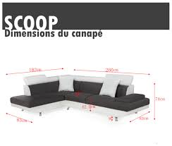 canape scoop exemple canape d angle scoop