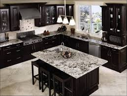 Kitchen Island Granite Countertop Kitchen Amazing Kitchen Design Applying Black Kitchen Cabinet