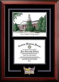 tech diploma frame tennessee tech golden eagles spirit graduate diploma frame with