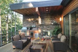 furniture outdoor kitchen idea stainless steel refrigerator built