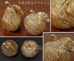 decorplus rakuten global market golden fruit ornament figurine