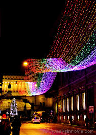 Crazy Christmas Light Show by The Colosseum 100 Weeks In Rome