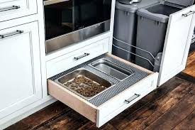 under cabinet pull out drawers pull out drawers for kitchen cabinets lowes full image for under