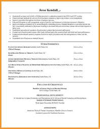Stand Out Resume Examples by Opulent Design Physical Therapy Resume Sample 1 Unforgettable