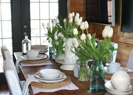 dining room table decorating ideas pictures dining room table floral arrangements ideas to use flower