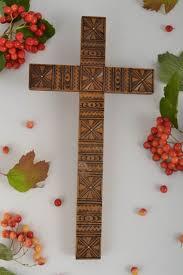 cross home decor madeheart u003e wall cross handmade home decor wall hanging religious