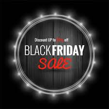 best blurry black friday deals background with a light frame for black friday vector free download