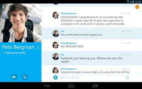 skype android app skype for android update adds picture in picture feature