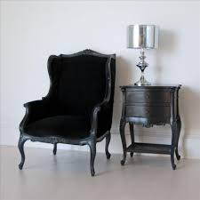 Black Wingback Chair Design Ideas Furniture Classic Wingback Chair For Houses High Resolution