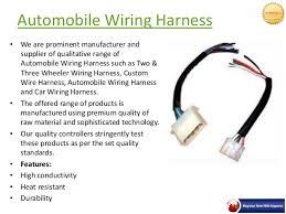 automobile wiring harness in pune neptune enterprises