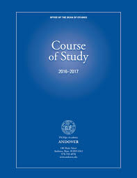 course of study 2016 2017 by phillips academy issuu