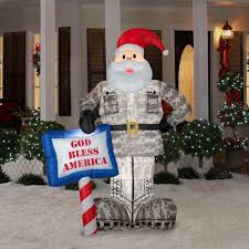 Home Depot Christmas Lawn Decorations by Amazon Com Christmas Decoration Lawn Yard Inflatable Airblown