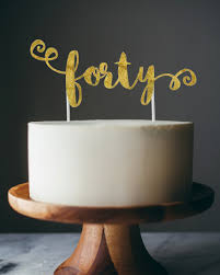 40 cake topper new to anaderoux on etsy topper forty cake topper invitations