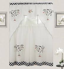 Cow Print Kitchen Curtains Cow Curtains Ebay