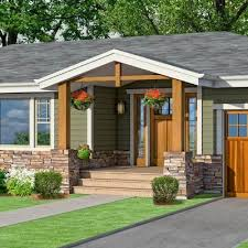 ranch homes with front porches photoshop redo craftsman makeover for a no frills ranch stone
