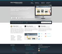 web design software tutorial convert 1stdelicious portfolio layout from psd to html very