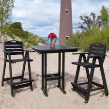 Resin Bistro Chairs Recycled Plastic Bistro Sets Hayneedle