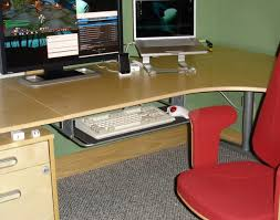 Computer Desk With Adjustable Keyboard Tray Shelf Index Php Topic Awesome Desk With Keyboard Tray Favored