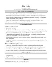 nursing assistant resume nursing assistant resume sle