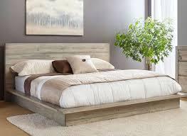 Platform Bed California King Bedroom Fabric Headboard King Serta Pillow Top Mattress King