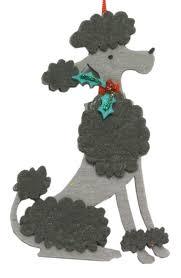 gisela graham poodle tree decoration pet